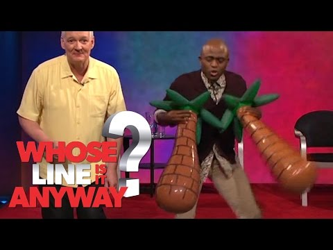 Rekvizity: Waynova povislá gumová prsa - Whose Line Is It Anyway?