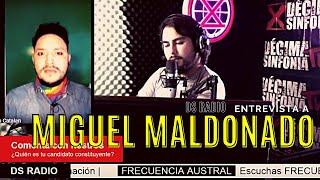 Frecuencia Austral | Entrevista Miguel Maldonado, candidato por el distrito 26