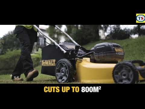DeWalt DCMW564P2-GB 36V XR 48cm Brushless Cordless Lawn Mower
