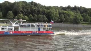Путешествие по Москва реке с Юга на Север