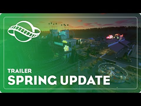 Spring Update Trailer - Planet Coaster