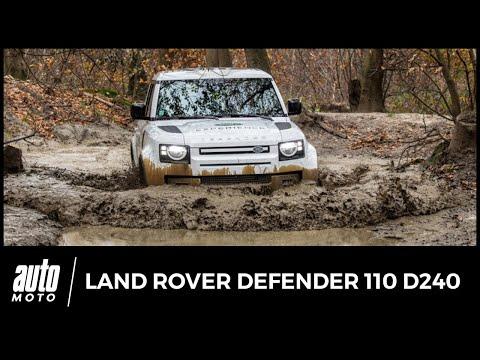Essai franchissement Land Rover Defender D240 : boue permettez ?