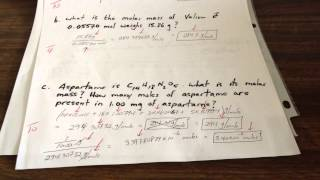 Stoichiometry Part 8: TEST