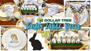 Dollar Tree Easter Table Decor | KB Decor Crafts