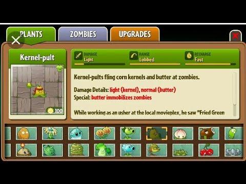 PvZ 2 Almanac - Plants - смотреть онлайн на Hah Life