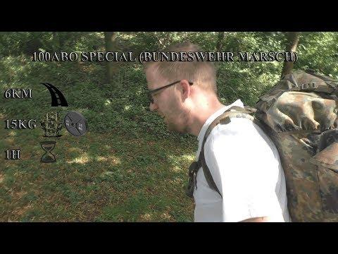 🔴100Abo Special (Bundeswehr Marsch)⏩6KM 15KG 1H⏪🔴