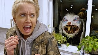 SCARY EASTER BUNNY PRANK!! (This gets wild)
