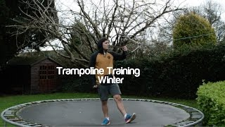 Wakeboard Trampoline Training - Winter