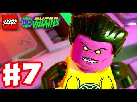 LEGO DC Super Villains - Gameplay Walkthrough Part 7 - Sinestro vs. Power Ring!