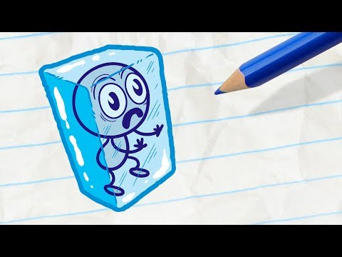 Pencilmate Saves his Friend -in- FALL BY MYSELF – Pencilmation Cartoons for Kids