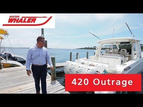 Boston Whaler 420 Outrage video