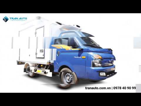 Tổng hợp các kiểu thùng cho dòng xe tải Hyundai Porter H150