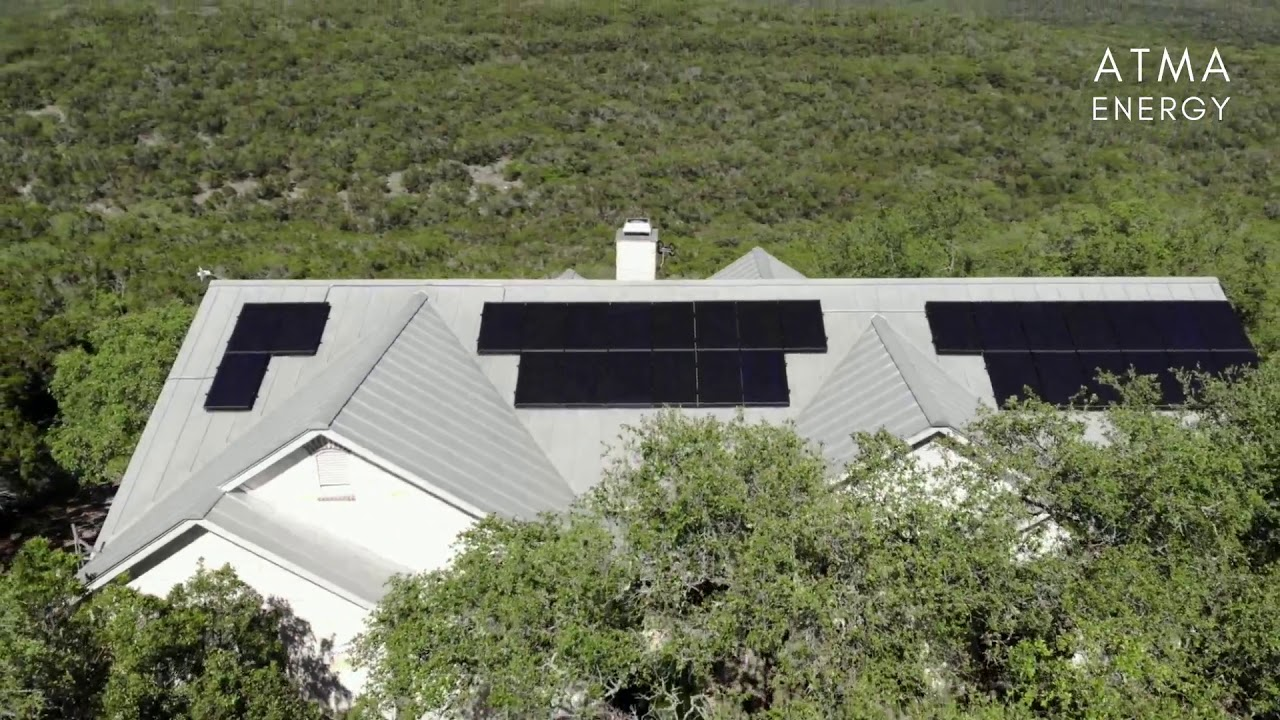 Overlooking San Antonio's Government Canyon, this solar installation reduces our customer's energy bill by $132/month!