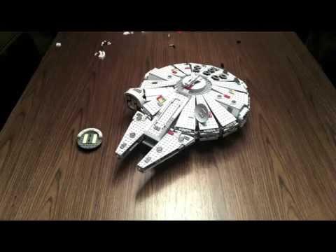 The Lego Millennium Falcon 2011 Time-Lapse