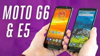 Motorola Moto G6 and Motorola Moto E5 hands-on