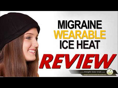 Migraine Relief Wearable Ice Cool Hat