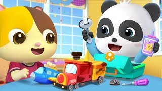 Change Old Cars Into New Ones | Police Car, Doctor Cartoon | Nursery Rhymes| Kids Songs |BabyBus