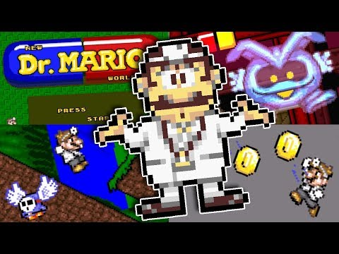 Amazing Super Mario World Rom Hack - New Dr. Mario World!