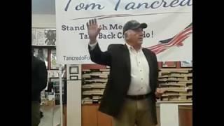 Tom Tancredo jokes about yesterday's terror attack in New York