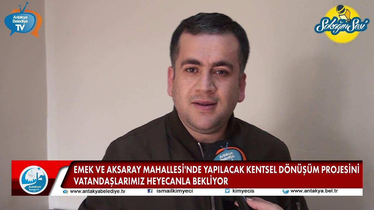EMEK VE AKSARAY MAHALLESİ'NDE ...