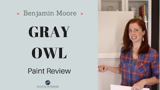 Colour Review: Benjamin Moore Gray Owl - Kylie M Interiors
