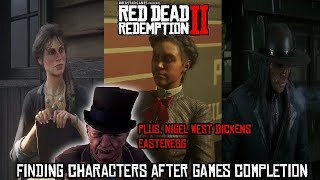 RDR 2 - Finding Characters After The Ending (plus Nigel West Dickens Easteregg) [SPOILERS]