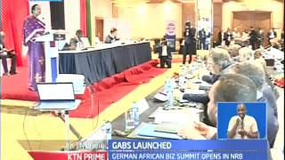Kenya relinks its bilateral tiers with German as the GAB Summit commence in Nairobi
