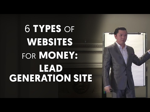 6 Types of Websites You Can Create to Make Money: Lead Generation Site - Dan Lok