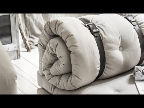 Matelas futon et fauteuil 2 en 1 BUCKLE-UP