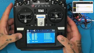 Mobula7 FlySky Edition Setup Part 3 - TX16S Switches and RSSI on OSD from Cyclone FPV