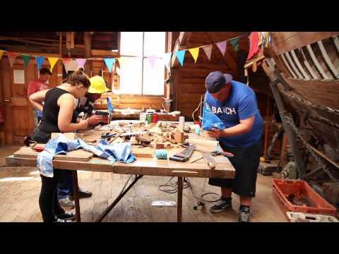 Die Antenne MV-Urlaub-Zuhause - Tour am 02.09.15 - Challenge Boot Bauen