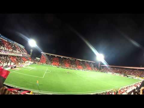 """""""Histórico recibimiento LDA vs Impact Montreal"""" Barra: La 12 • Club: Alajuelense"""