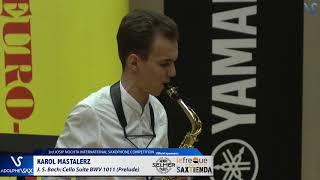 Karol Mastalerz plays Suite BWV 1011 Prelude by J.S. Bach