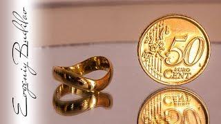Подарок из 50 центов | Кольцо из монеты