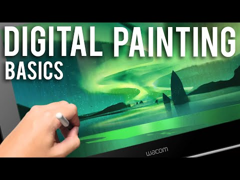 Digital Painting Basics - Simple Forms to Complex Paintings