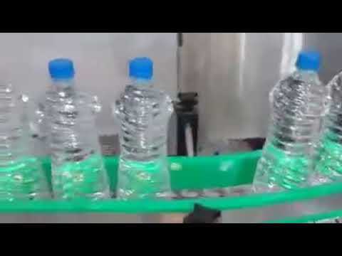 Mineral Water Bottle Filling Plant