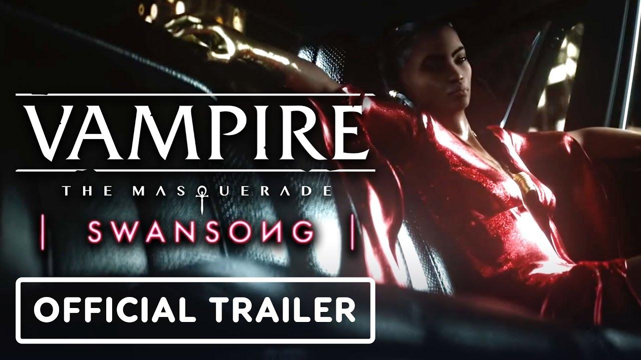 Анонсирующий трейлер игры Vampire: The Masquerade - Swansong