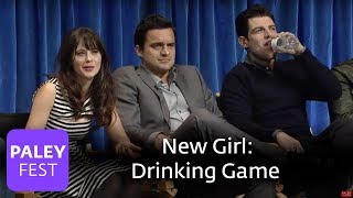 New Girl - The Writers | Zooey Deschanel and Lamorne Davis on The True American Drinking Game