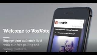 VoxVote video