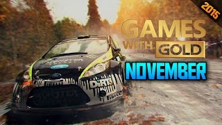 XBOX LIVE GAMES WITH GOLD FOR NOVEMBER REVEALED!