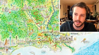 Exploring the Map: The Mississippi River (from North America: Portrait of a Continent)