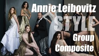 Annie Leibovitz & Vanity Fair Style - Group Lighting + Photoshop Composite Tutorial