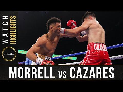 Освари Дэвид Моррелл – Марио Касарес / Morrell Jr. vs Cazares