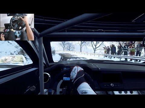 Chevrolet Camaro GT4-R - Dirt Rally 2.0 | Logitech g29 gameplay