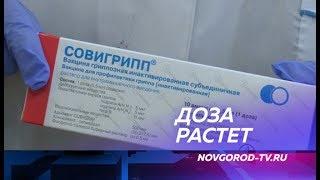 В Новгородскую область поступила новая партия вакцины против гриппа и ОРВИ
