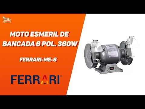 Moto Esmeril de Bancada 6 Pol. 360W - Video