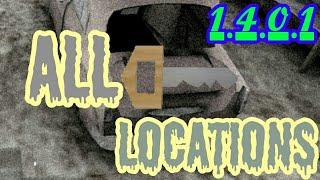Granny V1.4.0.1 | All Car Key Locations