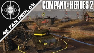 Fire The Rockets!!! - Company of Heroes 2 4K Replays #74