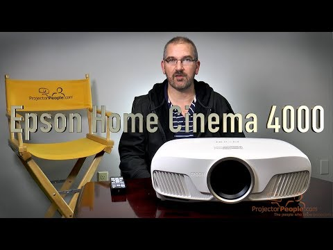 Epson Home Cinema 4000 3LCD Projector with 4K Enhancement