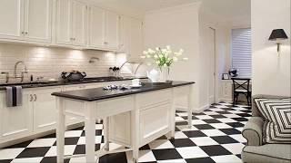 Black And White Tile Designs For Kitchens